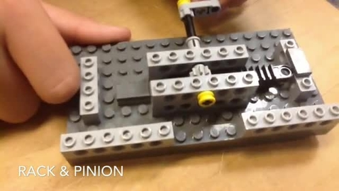 Thumbnail for entry Rack & Pinion