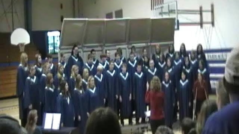 Thumbnail for entry Farragut High School Choir 2009
