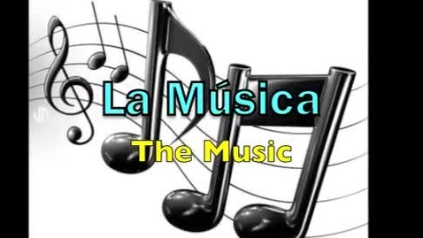 Thumbnail for entry The Word of the Week - La música