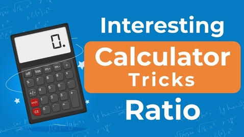 Thumbnail for entry How to find Ratio quickly on Calculator? | Calculator Tricks | Letstute Accountancy