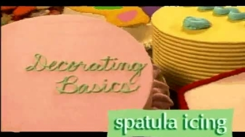 Thumbnail for entry How to Ice Cakes Using a Spatula