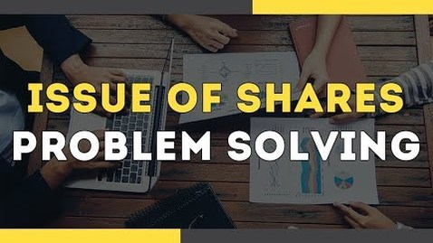 Thumbnail for entry Issue of Shares Accounting - Problem Solving | Accountancy | Letstute Accountancy