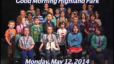 Thumbnail for entry Monday, May 12, 2014