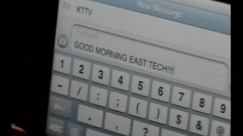 Thumbnail for entry 01-14-11 Good Morning East Tech Friday Edition