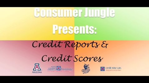 Thumbnail for entry Credit Reports & Credit Scores