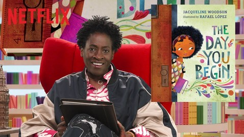 "Thumbnail for entry Jacqueline Woodson Reads ""The Day You Begin"" 