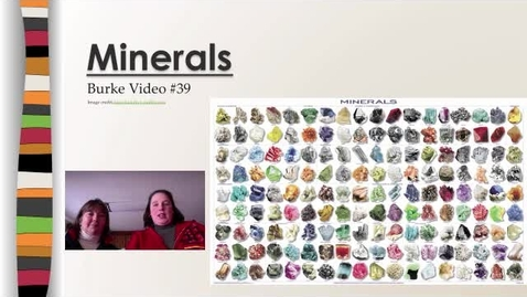 Thumbnail for entry Burke Video #40 Minerals
