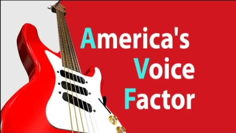 Thumbnail for entry America's Voice Factor