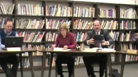 Thumbnail for entry 2/14/13 Warren County R-3 School Board Meeting