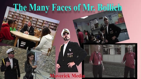 Thumbnail for entry Many Faces of Mr. Bollich