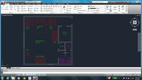 Thumbnail for entry AutoCAD LESSON 3L
