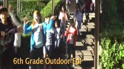 Thumbnail for entry Crocker Outdoor Education 2011
