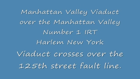 Thumbnail for entry 125th Street Manhattanville Viaduct 2