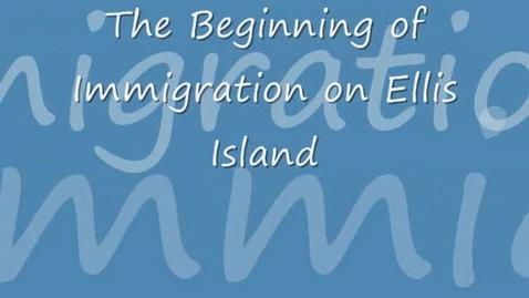 Thumbnail for entry Ellis Island