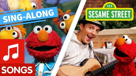 Thumbnail for entry Sesame Street: Sing Along with Elmo and Friends! | Lyric Video Compilation