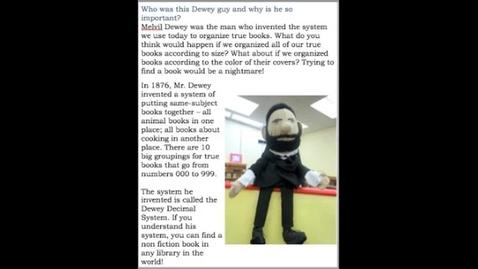 Thumbnail for entry Melvile Dewey