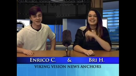 Thumbnail for entry Viking Vision News Fri 2-16-2018 #504