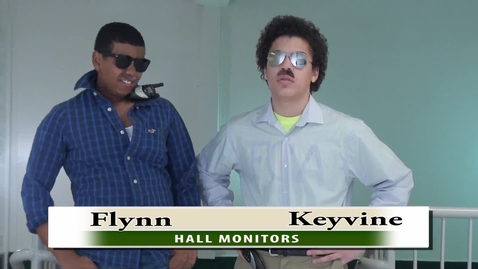 Thumbnail for entry KMHS Hall Monitors