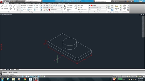 Thumbnail for entry AutoCAD LESSON 5D