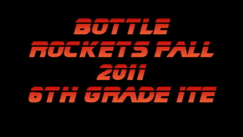 Thumbnail for entry Water Bottle Rockets