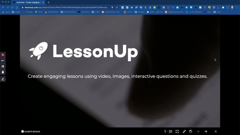 Thumbnail for entry LessonUp