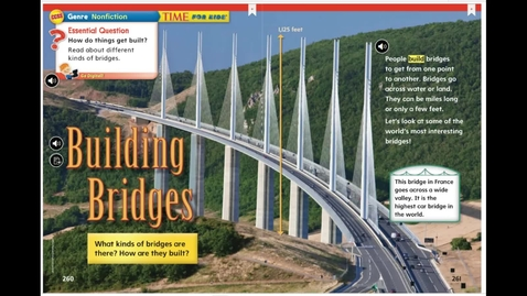 Thumbnail for entry Unit 5 Week 5 Reading Building Bridges Read Aloud and Comprehension 4-16-20