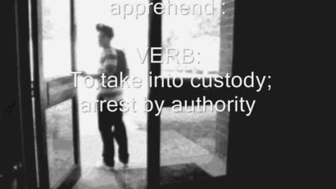 Thumbnail for entry apprehend
