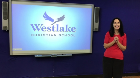 Thumbnail for entry Westlake Easter Chapel - with Message by Mr. Ertel, Middle School Bible Teacher