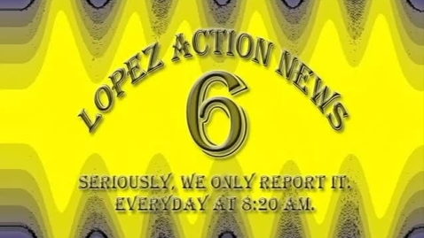 Thumbnail for entry Morning Announcemetns 3-19-13