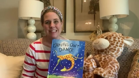 Thumbnail for entry Ms. Leslie reads Giraffes Can't Dance