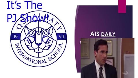 Thumbnail for entry QSI AIS Announcements April 5-9