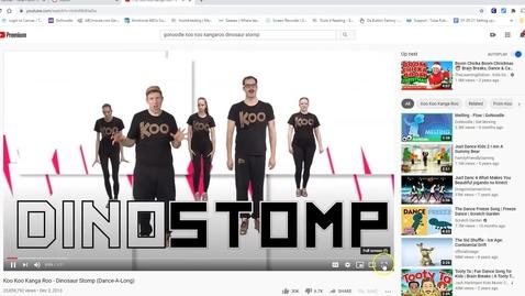 Thumbnail for entry Koo Koo Dinostomp