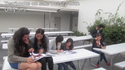 Thumbnail for entry 2012 Yearbook Commercial