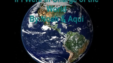 Thumbnail for entry Noah and Aqui Poem