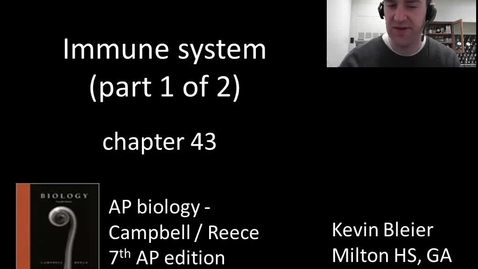 Thumbnail for entry Immune system (part 1 of 2)
