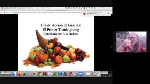 Thumbnail for entry Día de Acción de Gracias: El Primer Thanksgiving