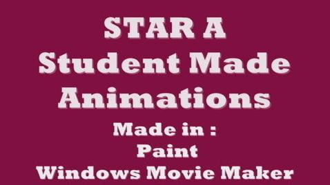 Thumbnail for entry Student Animations