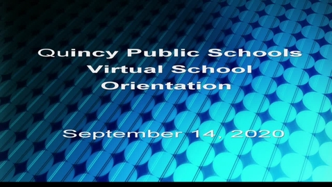 Thumbnail for entry QPS Virtual School Orientation 2020