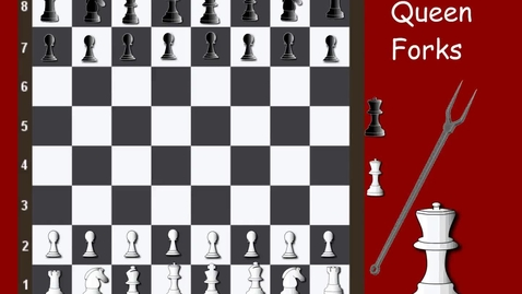 Thumbnail for entry Tricky Tactics 3 Queen Forks