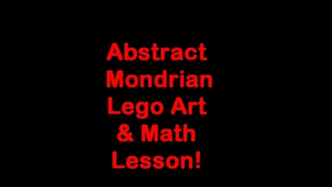 Thumbnail for entry Lego Art Lesson