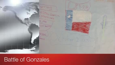 Thumbnail for entry Battle at Gonzales