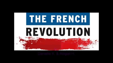 Thumbnail for entry French Revolution