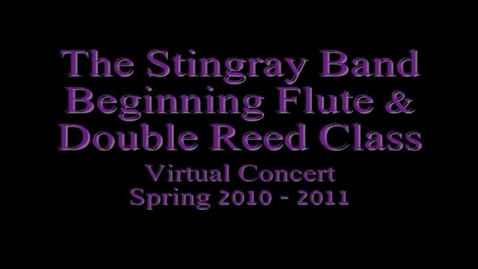 Thumbnail for entry Beg. Flute & Double Reeds