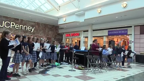 Thumbnail for entry St. Louis School Glee Club at Eastview Mall 12-6-17