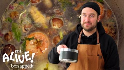 Thumbnail for entry Brad Makes a Master Stock | It's Alive | Bon Appétit
