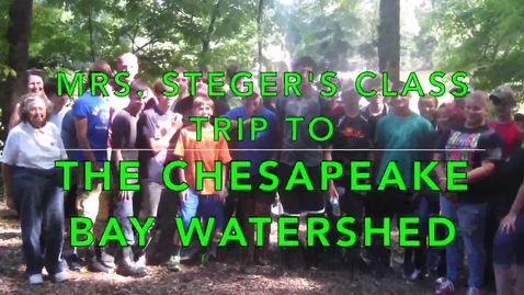 Thumbnail for entry Biology class takes a field trip to the Chesapeake Bay