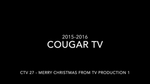 Thumbnail for entry Capital High School 2015-2016 Cougar TV Show 27