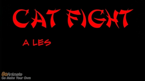 Thumbnail for entry Cat Fight: A Lesson on Diction