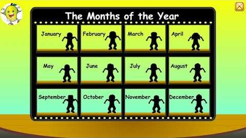 Thumbnail for entry Starfall .com |  learning months of the year| app for kids