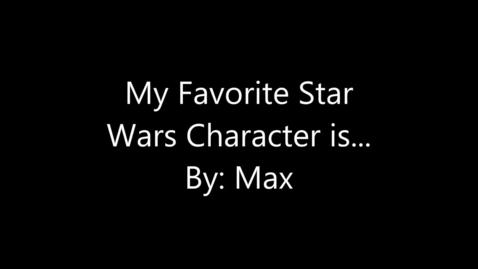 Thumbnail for entry Star Wars Max